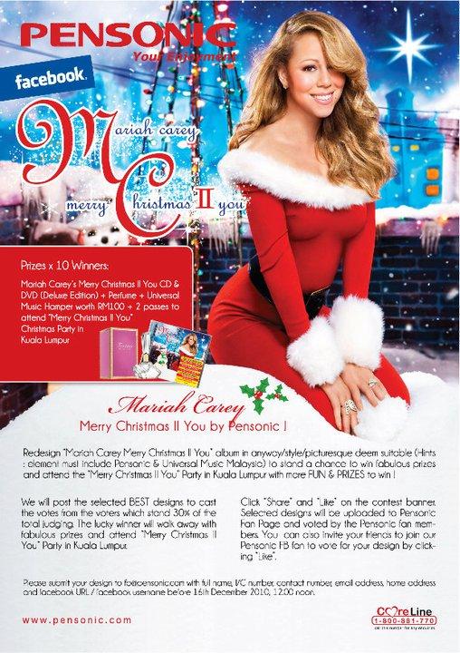 mariah carey merry christmas ii you album